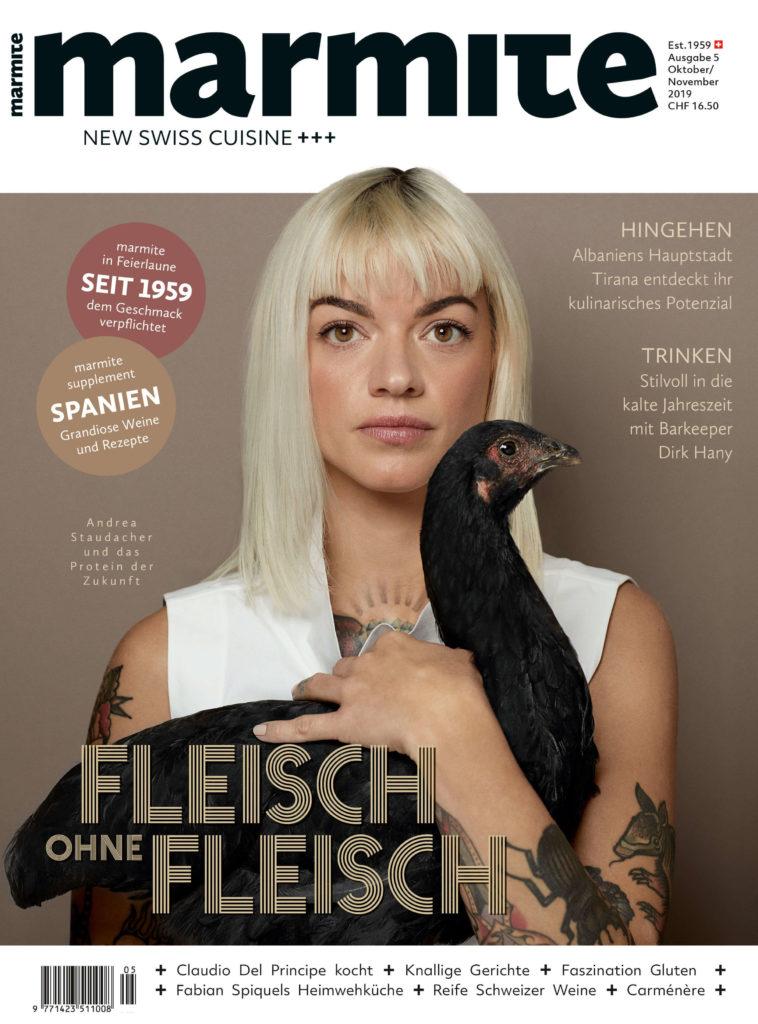 Marmite magazine cover Oktober / November 2019
