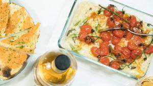 Risotto mit grünem Spargel, Cherrytomaten und Lachs