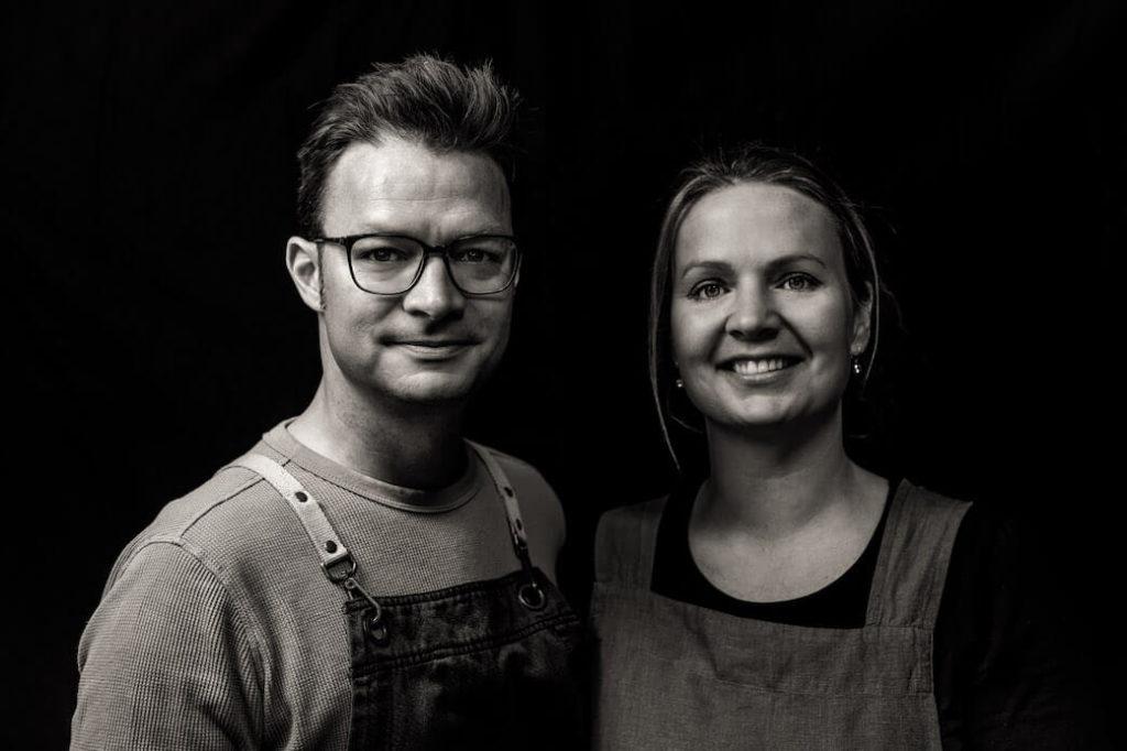 Die Gastgeber: Julia und Oliver Friedrich.