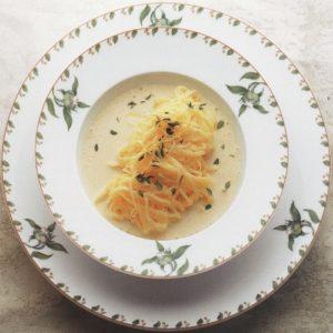 Taglierini an Zitronensauce