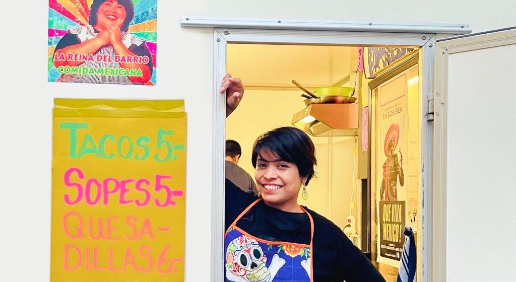 Mexikanisches von der Königin des Barrio
