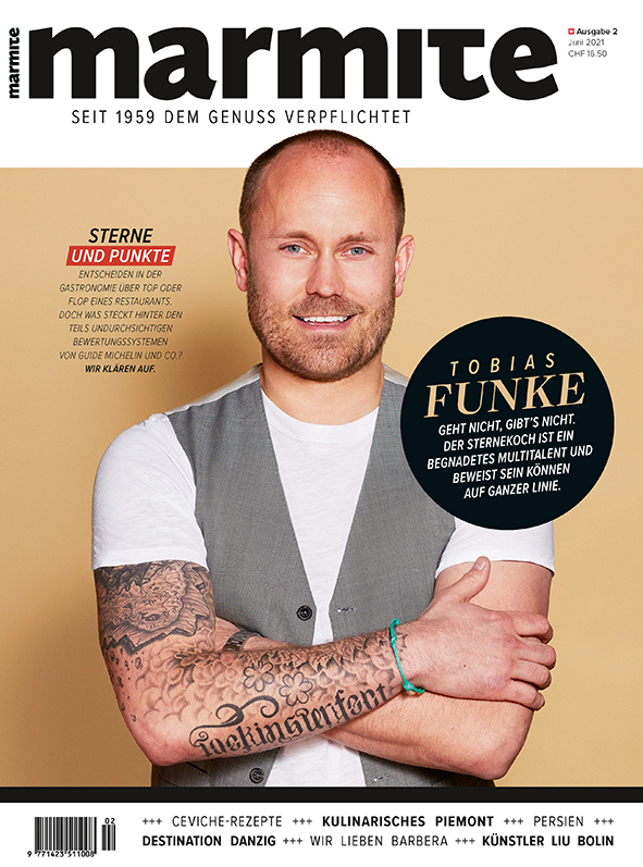 Marmite magazine cover Juni 2021