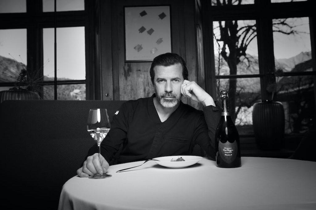 Andreas Caminada ist Botschafter von Dom Pérignon